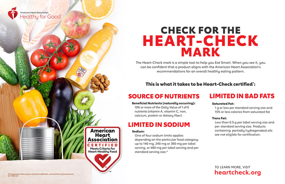 Check for the Heart-Check Mark Infographic