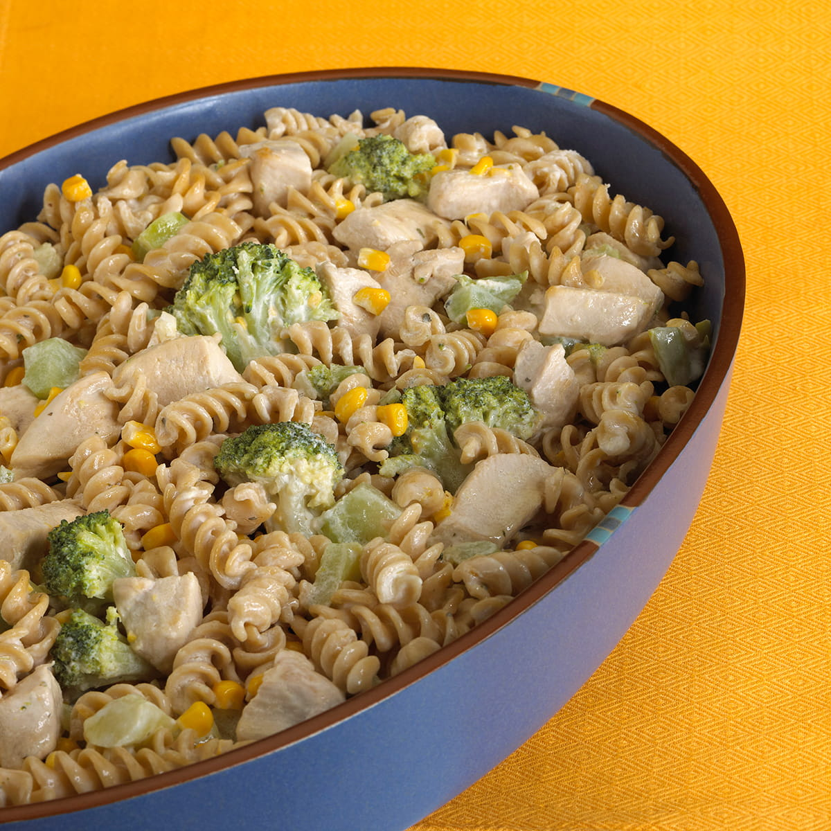 Creamy Chicken Broccoli Casserole with Whole Wheat Pasta