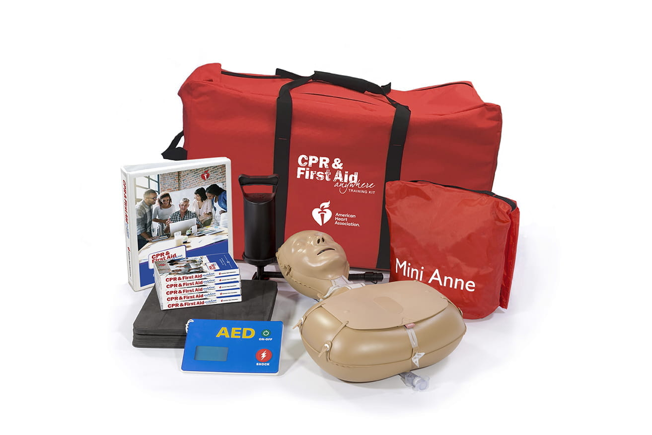 CPR in Schools Training Kit