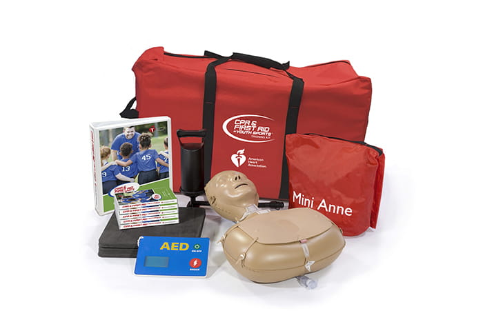 CPR First Aid Youth in Sports Kit