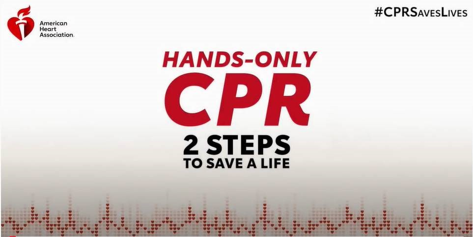 Hands-Only CPR Two Steps to Save a Life