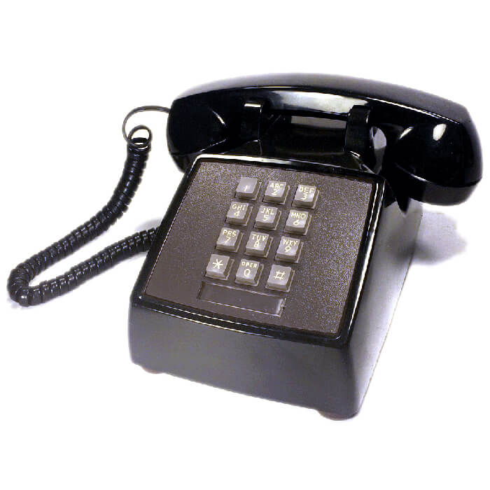 1980s Push Button Phone