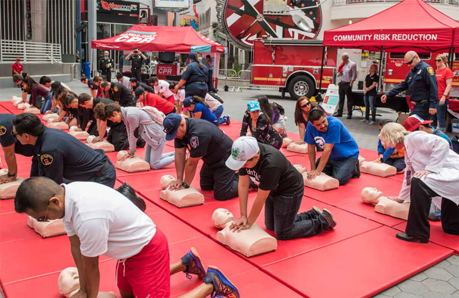 AHA's Hands-Only CPR mobile tour visits southern Maine