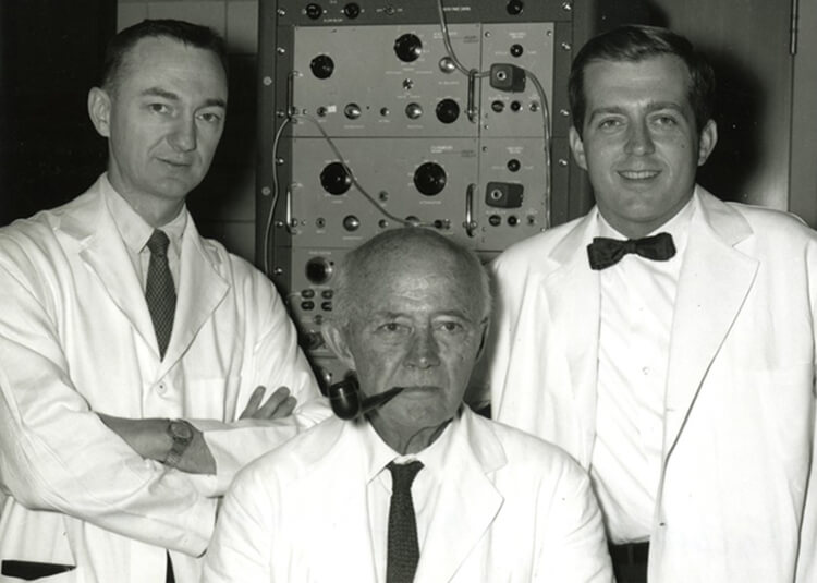 Drs. Jude, Kouwenhoven, and Knickerbocker